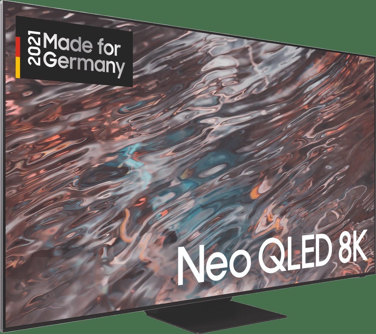 "Black Samsung TV 65"" GQ65QN800ATXZG Neo QLED 8K.2"