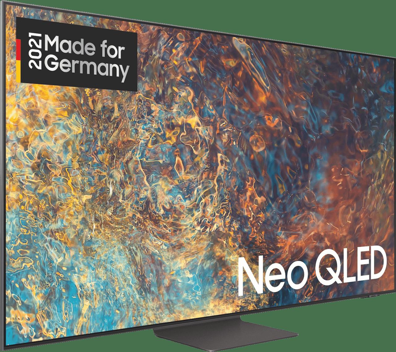 "Black Samsung TV 75"" GQ75QN95AATXZG Neo QLED UHD 4K.2"