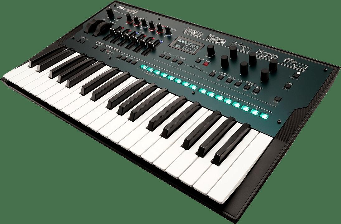 Black Korg Opsix FM Synthesizer.2
