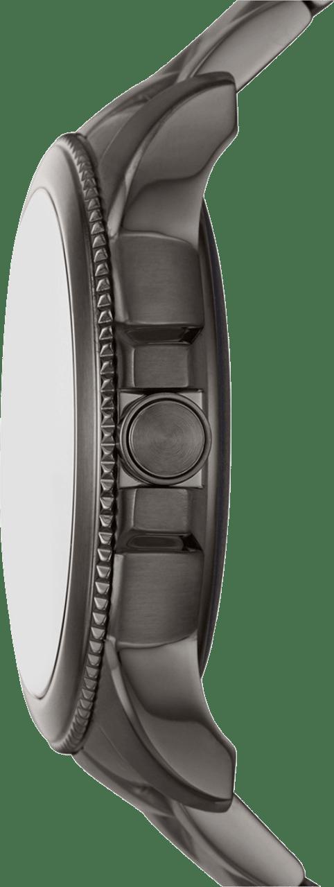 Grey Fossil Gen 5E Men's Smartwatch, 44mm Stainless Steel Case.4