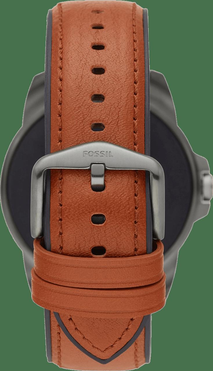 Braun Fossil Gen 5E Herren-Smartwatch, 44-mm-Edelstahlgehäuse.5