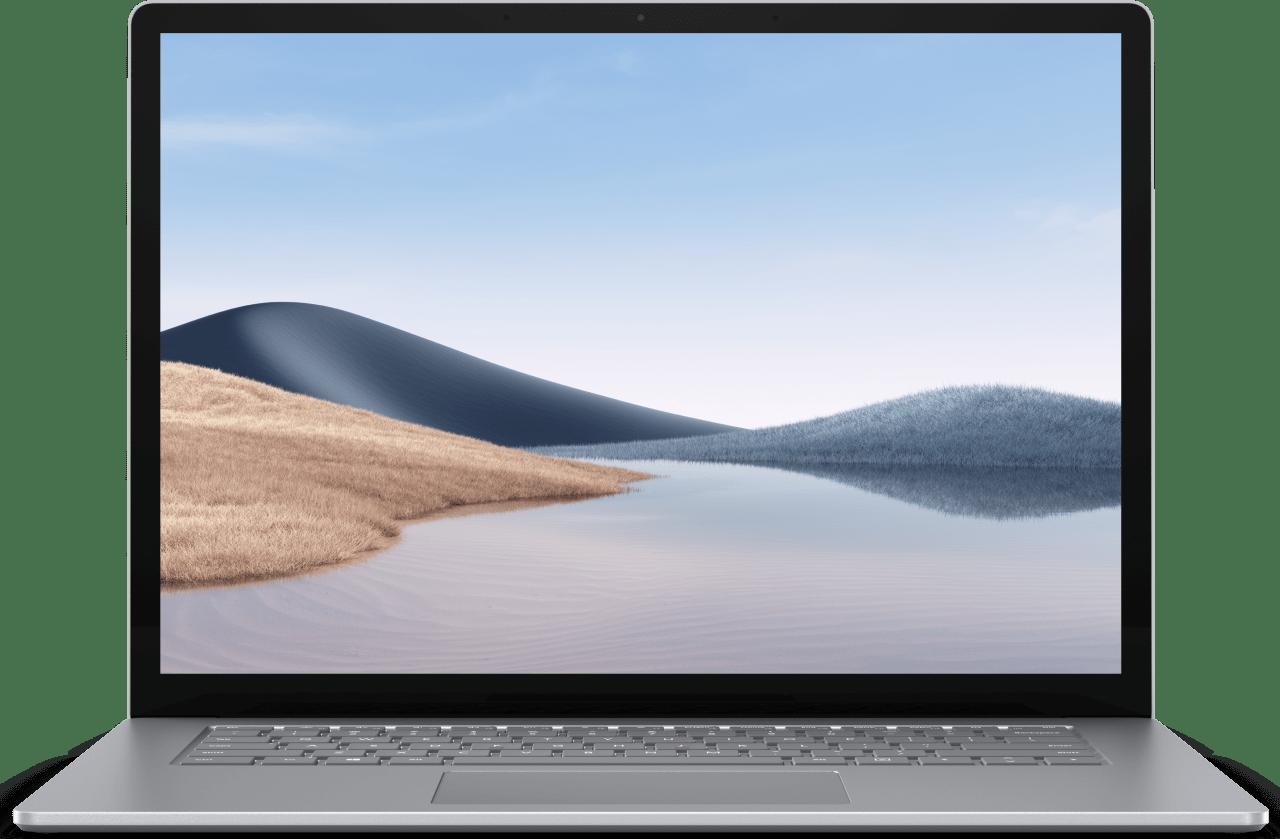 Platin Microsoft Surface Laptop 4 Notebook - AMD Ryzen™ 7 4980U - 8GB - 256GB SSD - AMD Radeon™ Vega RX 11.1