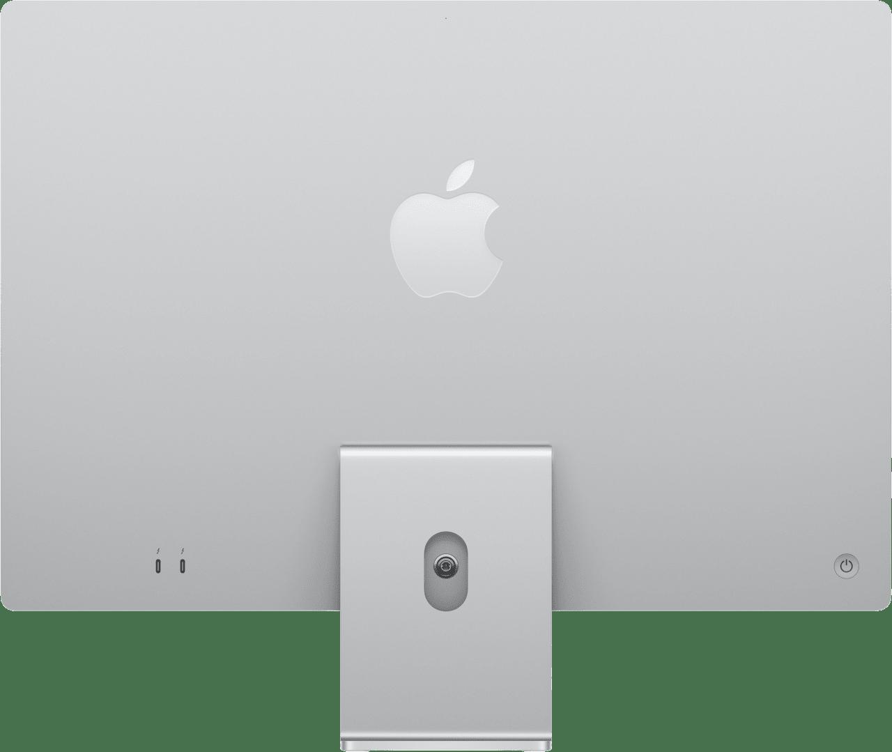 "Silber Apple 24"" iMac (Mid 2021) All-in-One PC - Apple M1 - 8GB - 256GB SSD - Apple Integrated 7-core GPU.3"