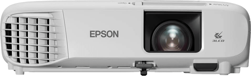White Epson EB-FH06 Projector - Full HD.1