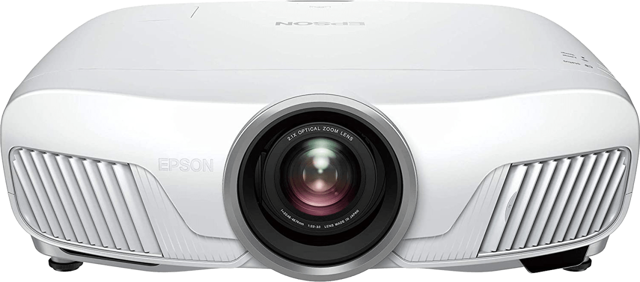 White Epson EH-TW7400 4K UHD Projector.1
