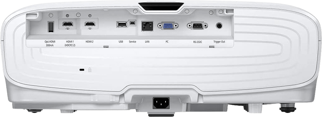 White Epson EH-TW7400 4K UHD Projector.3