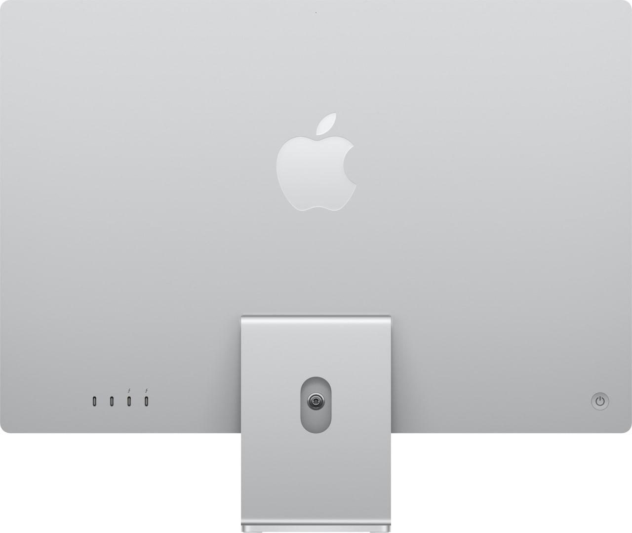 "Silver Apple 24"" iMac (Mid 2021) All-in-One - Apple M1 - 8GB - 512GB SSD - Apple Integrated 8-core GPU.3"