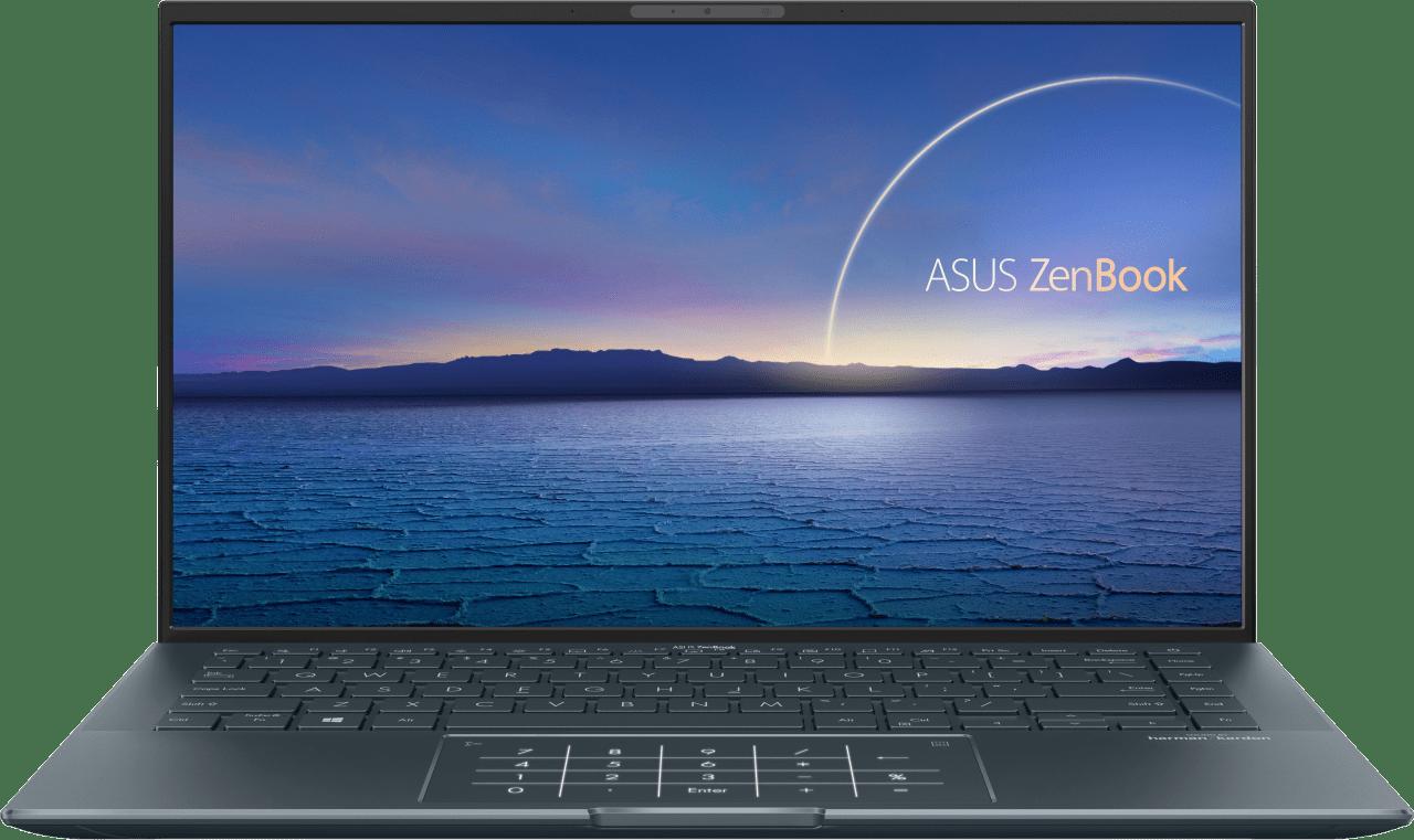 Grey Asus ZenBook 14 UX435EAL-KC066R Laptop - Intel® Core™ i7-1165G7 - 16GB - 512GB SSD - Intel® Iris® Xe Graphics.1