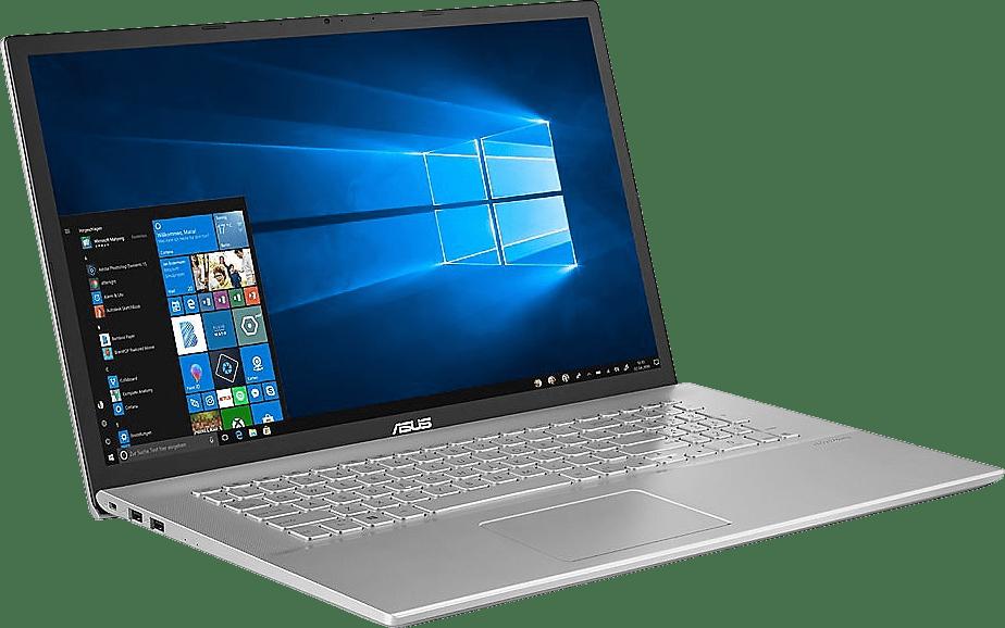 Transparent Silver Asus Business P1701DA-AU366R Laptop - AMD Ryzen™ 5 3500U - 8GB - 256GB SSD - AMD Radeon™ Vega 8.3