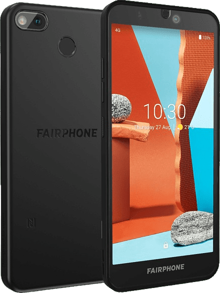 Black Fairphone 3+ 64GB - Smartphone - Dual SIM.2
