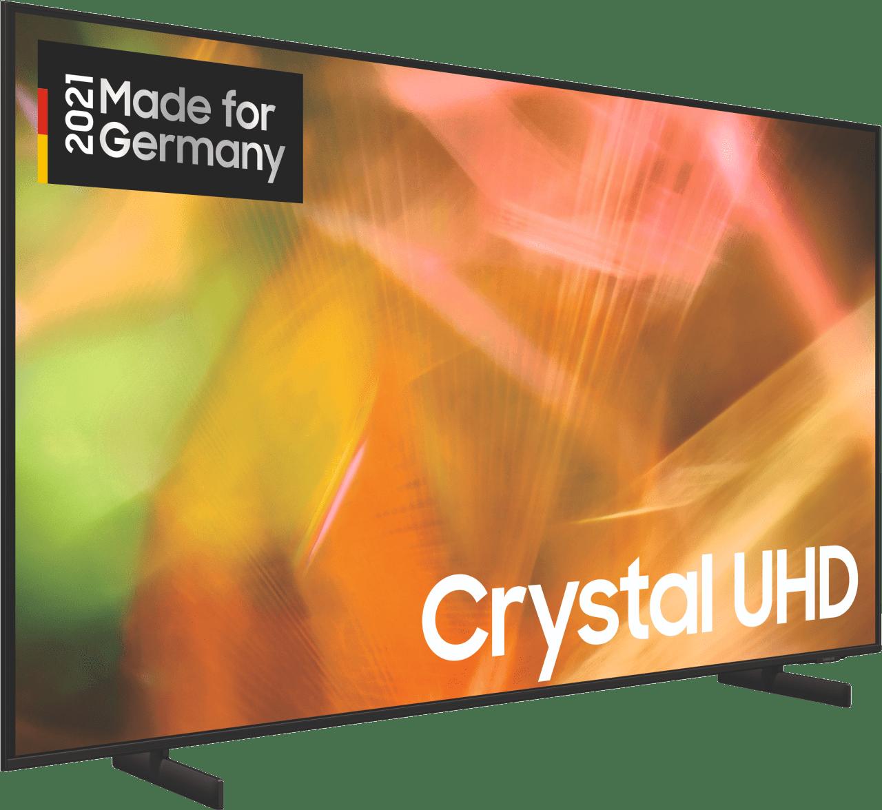 "Black Samsung TV 43"" GU43AU8079UXZG LED UHD 4K.4"