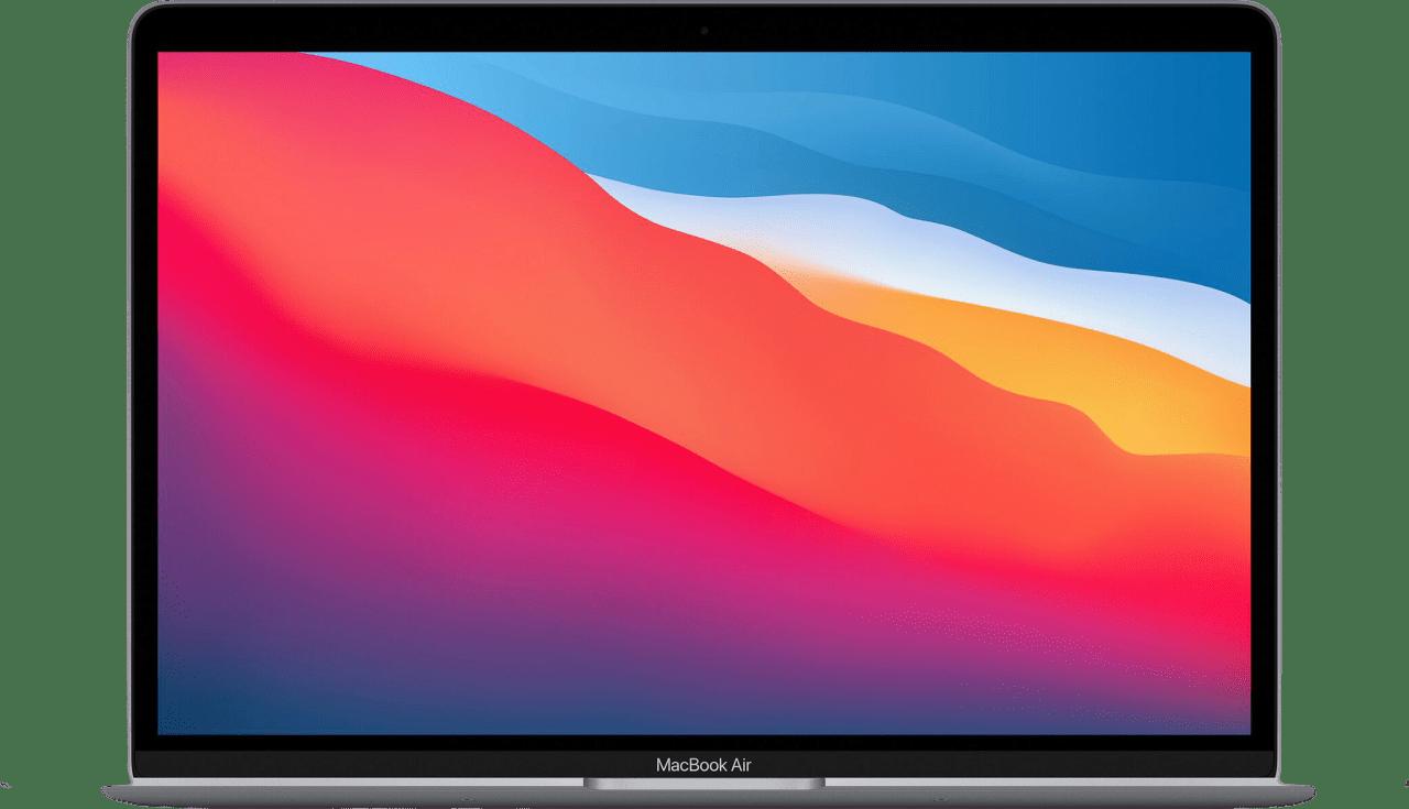 Silver Apple MacBook Air (Late 2020) - Spanish (QWERTY) Laptop - Apple M1 - 8GB - 256GB SSD - Apple Integrated 7-core GPU.1