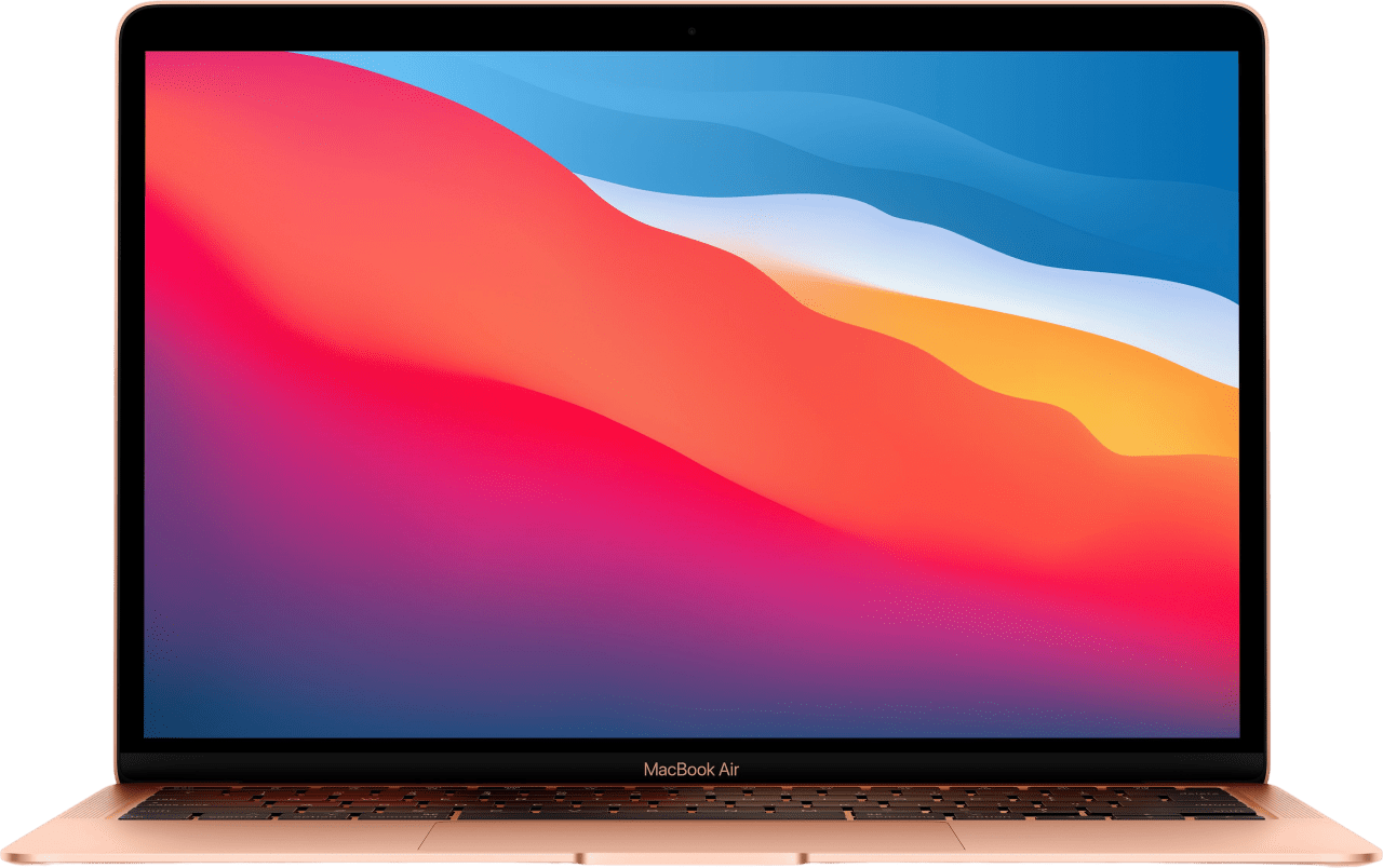 Gold Apple MacBook Air (Late 2020) - Spanish (QWERTY) Notebook - Apple M1 - 8GB - 256GB SSD - Apple Integrated 7-core GPU.1