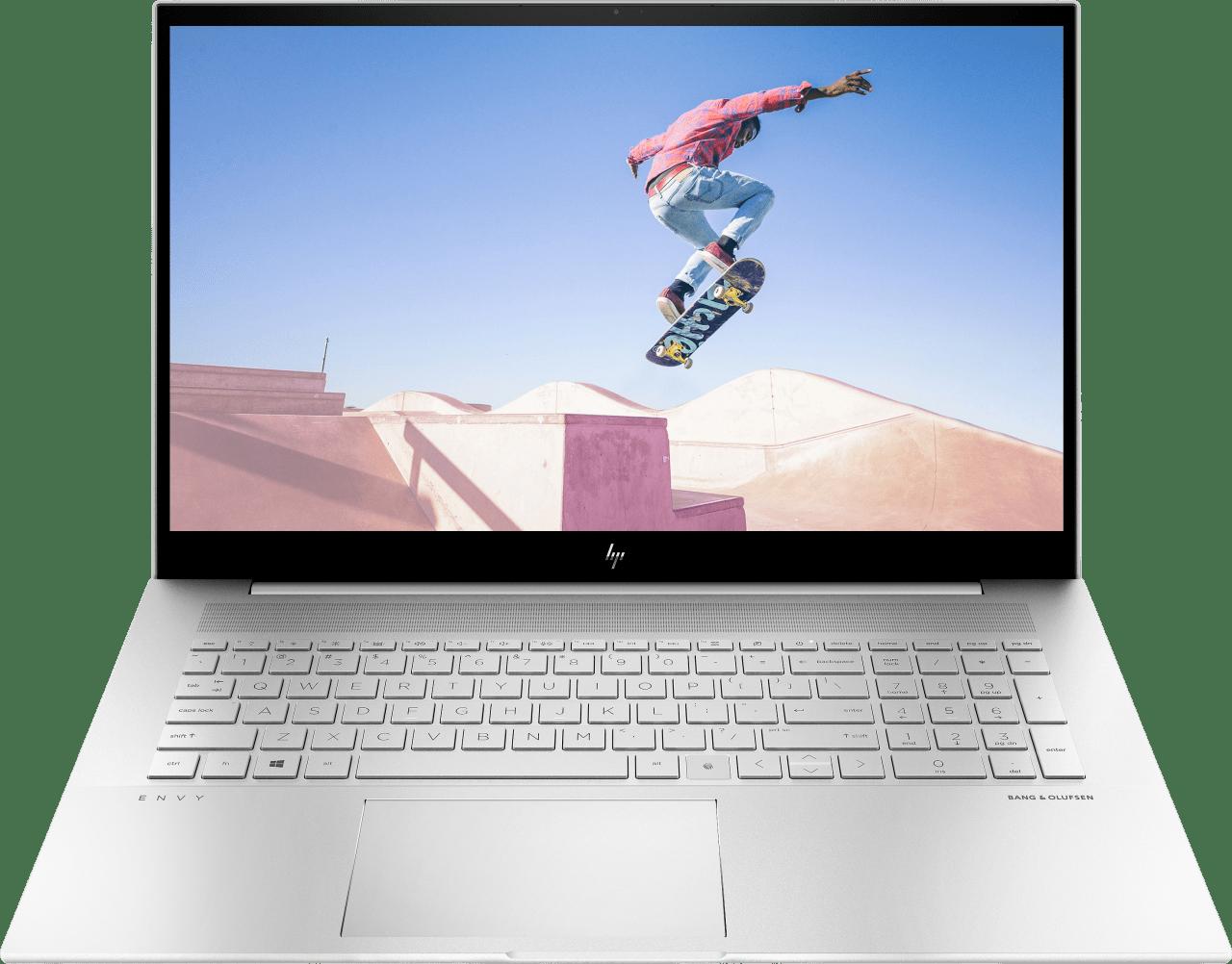 Natural Silver HP Envy 17-ch0076ng Notebook - Intel® Core™ i7-1165G7 - 16GB - 512GB PCIe - NVIDIA® GeForce® MX450 (2GB).1
