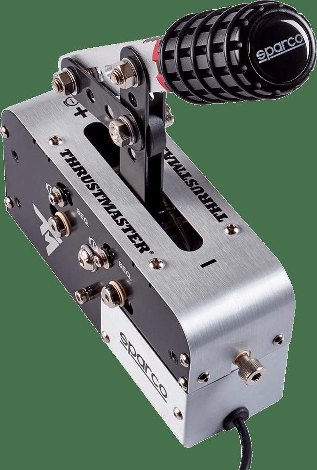 Negro Thrustmaster TSS Sparco Mod + Handbrake.4