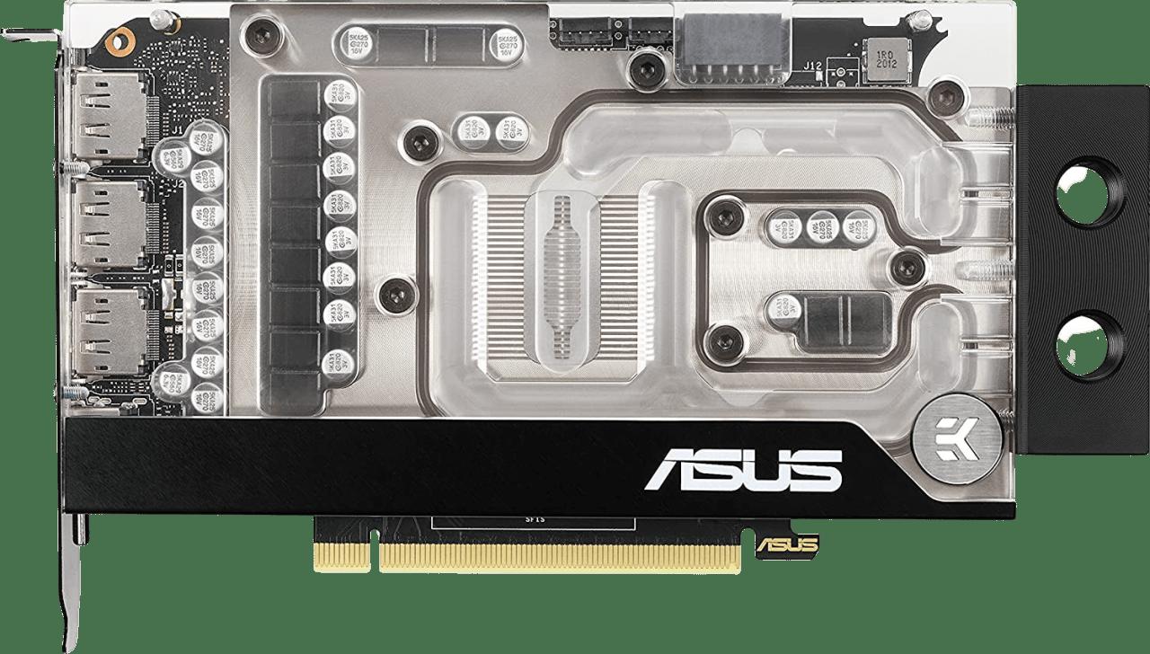 Schwarz ASUS GeForce RTX 3070 EKWB Gaming Grafikkarte.1