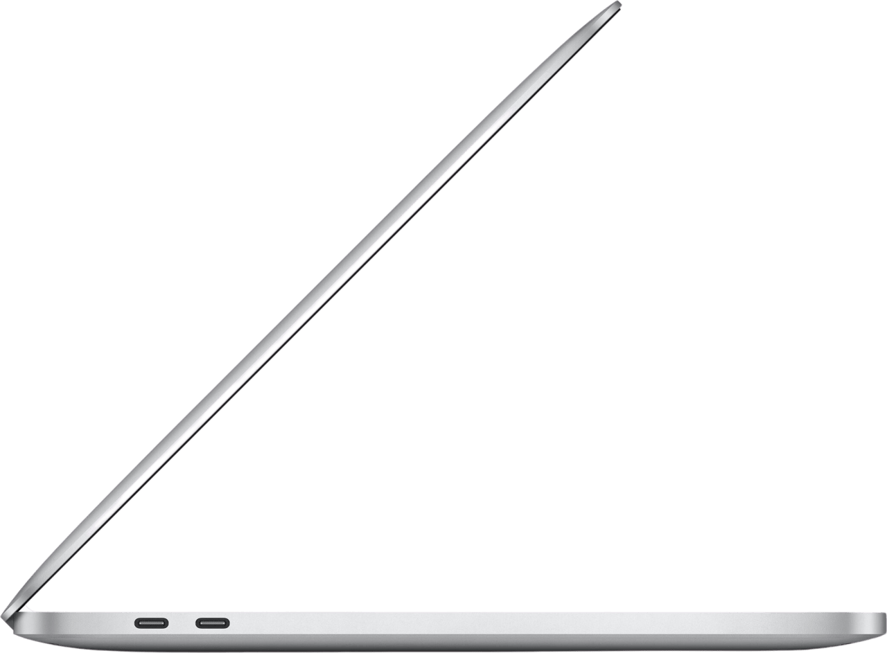 "Silver Apple 13"" MacBook Pro (Late 2020) - Spanish (QWERTY)  Laptop - Apple M1 - 8GB - 512GB SSD - Apple Integrated 8-core GPU.4"