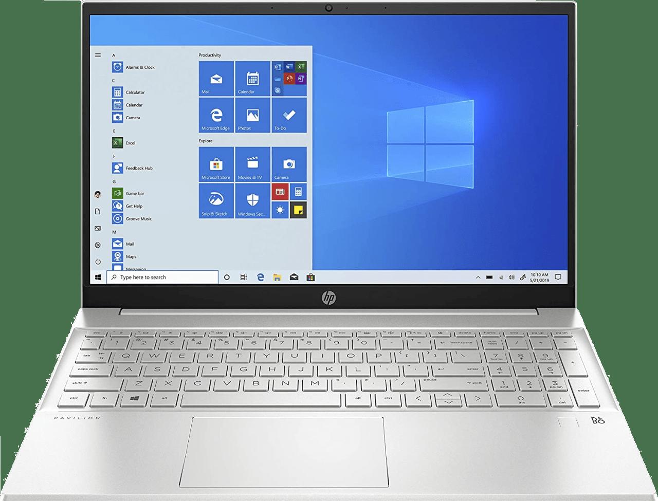Natürliches Silber HP Pavilion 15 15-eg0277ng Notebook - Intel® Core™ i7-1165G7 - 16GB - 1TB PCIe - Intel® Iris® Xe Graphics.1