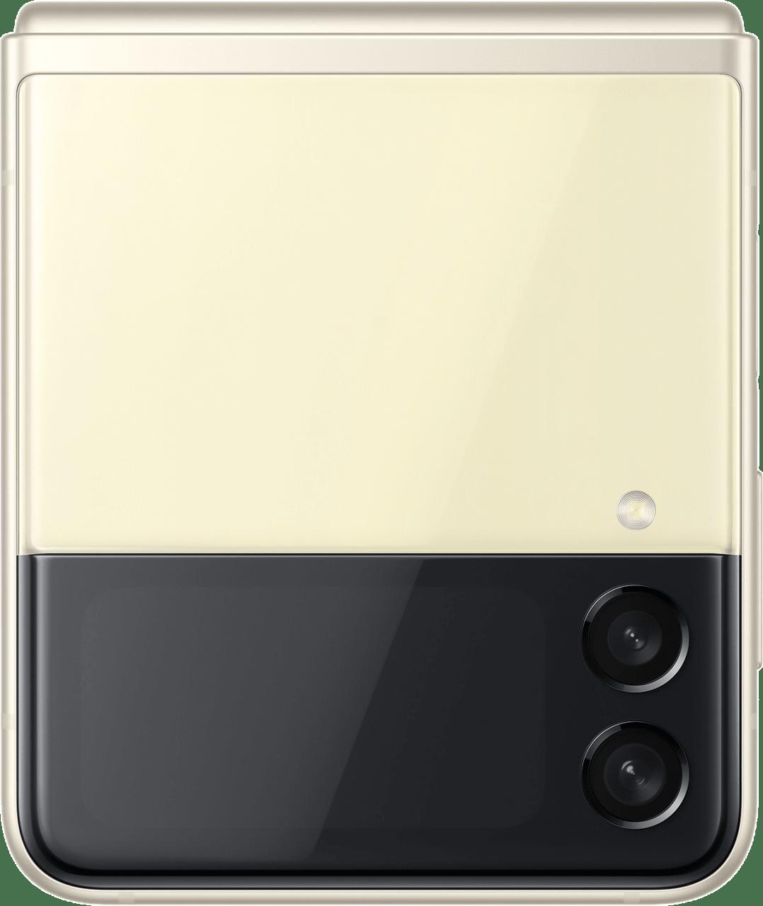 Cream Samsung Smartphone Galaxy Flip 3 - 128GB - Dual Sim.2