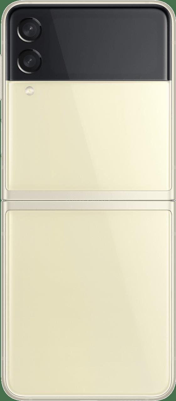 Cream Samsung Smartphone Galaxy Flip 3 - 128GB - Dual Sim.5