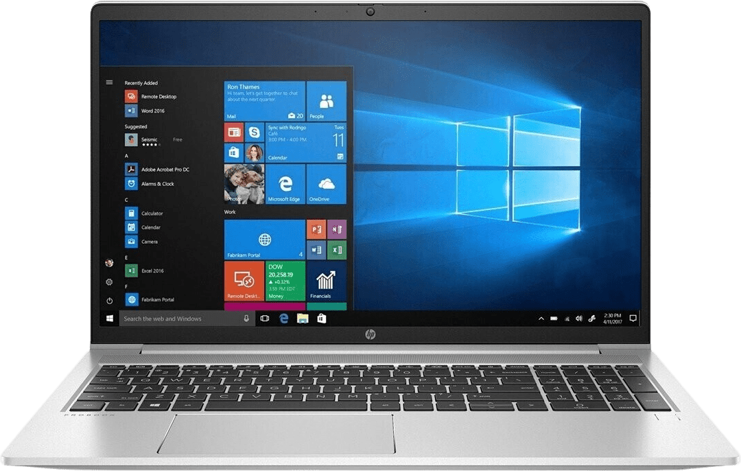Silver HP ProBook 450 G8 Laptop - Intel® Core™ i7-1165G7 - 16GB - 512GB SSD - Intel® Iris® Xe Graphics.1