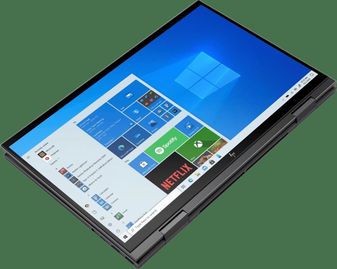 Black HP Envy x360 15-eu0356ng Convertible - AMD Ryzen™ 5 5500U - 8GB - 1TB SSD - AMD Radeon™ Graphics.3