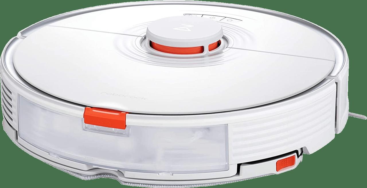 White Roborock S7 Vacuum & Mop Robot Cleaner.3