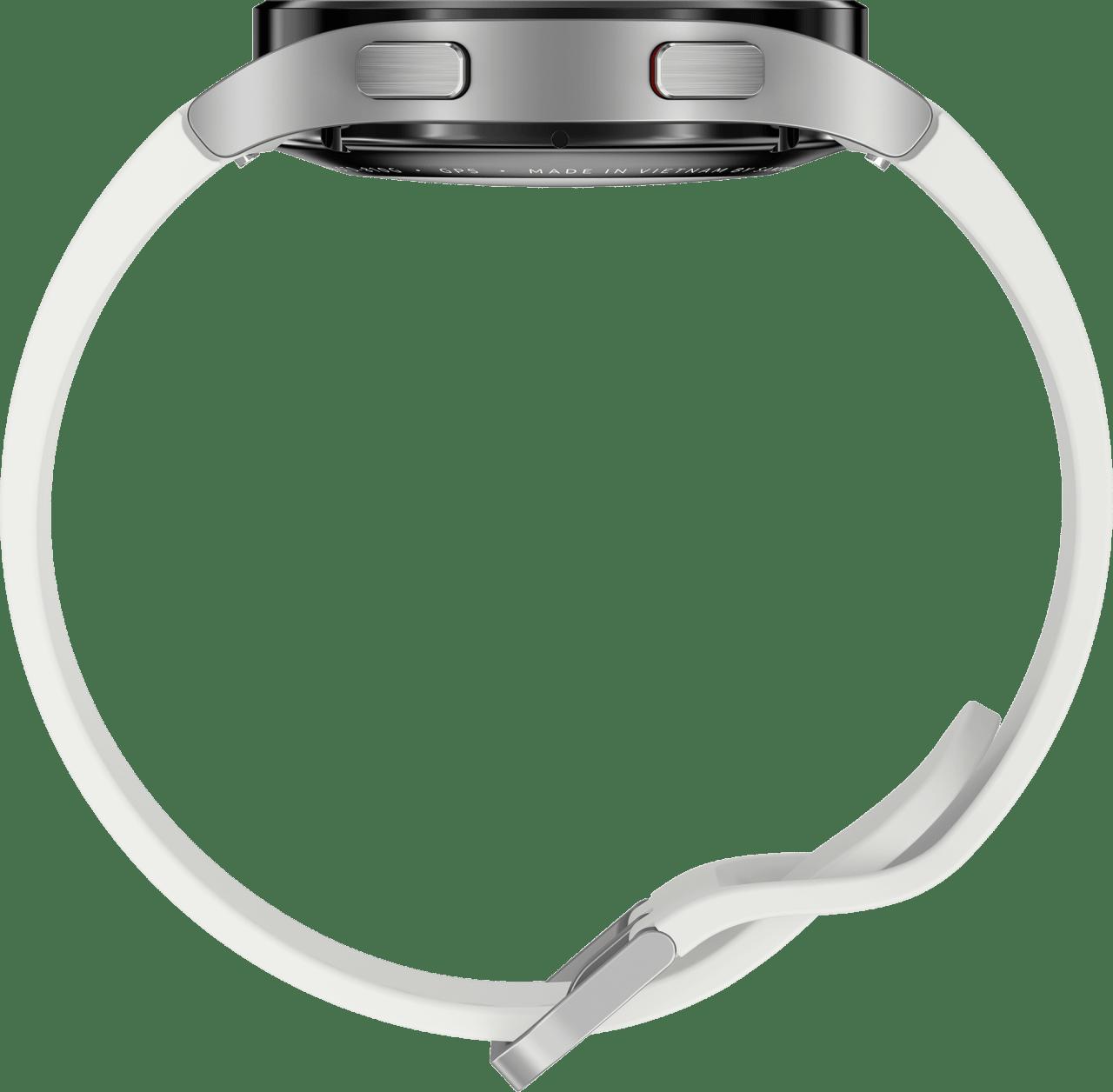 Silver Samsung Galaxy Watch4 LTE, 40mm.3