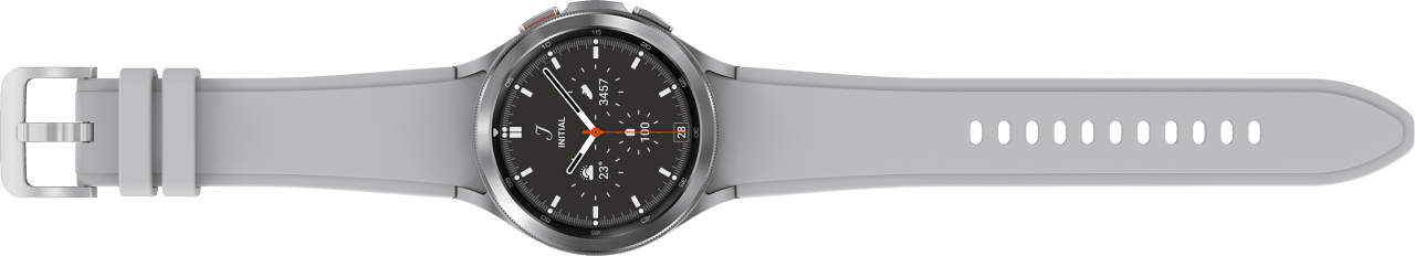 Silber Samsung Galaxy Watch4 Classic LTE, 46mm.4