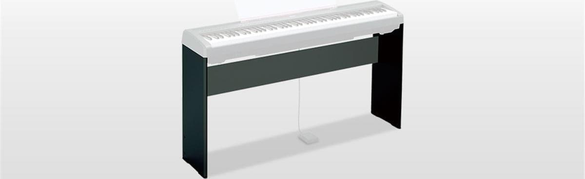 Zwart Yamaha L-85A Stand voor P-45B toetsenbord.1