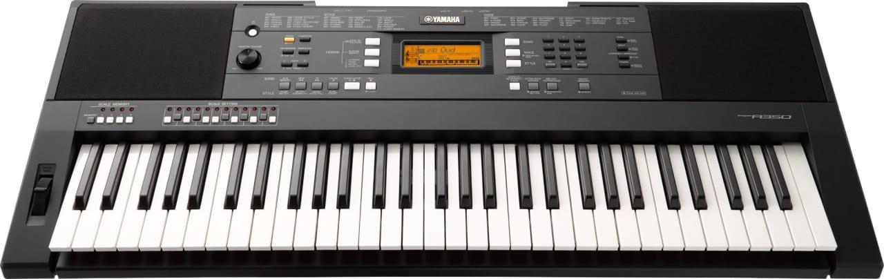 Black Yamaha PSR-A350 Oriental 61-Key Portable Digital Piano.1