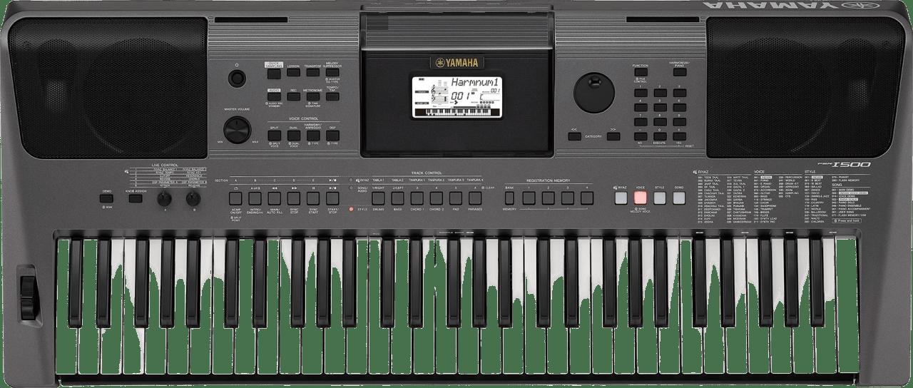 Schwarz Yamaha PSR-i500 Tragbares Keyboard mit 61 Tasten.1
