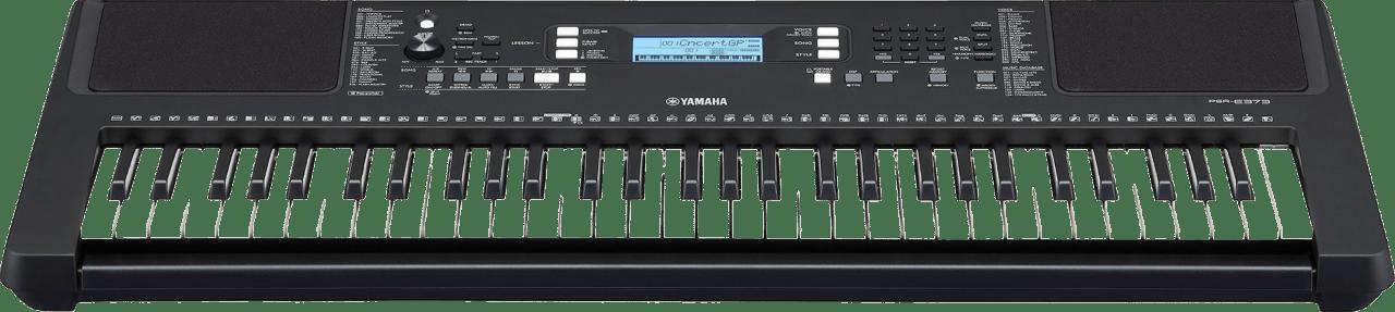 Black Yamaha PSR-E373 61-Key Portable Digital Piano.5