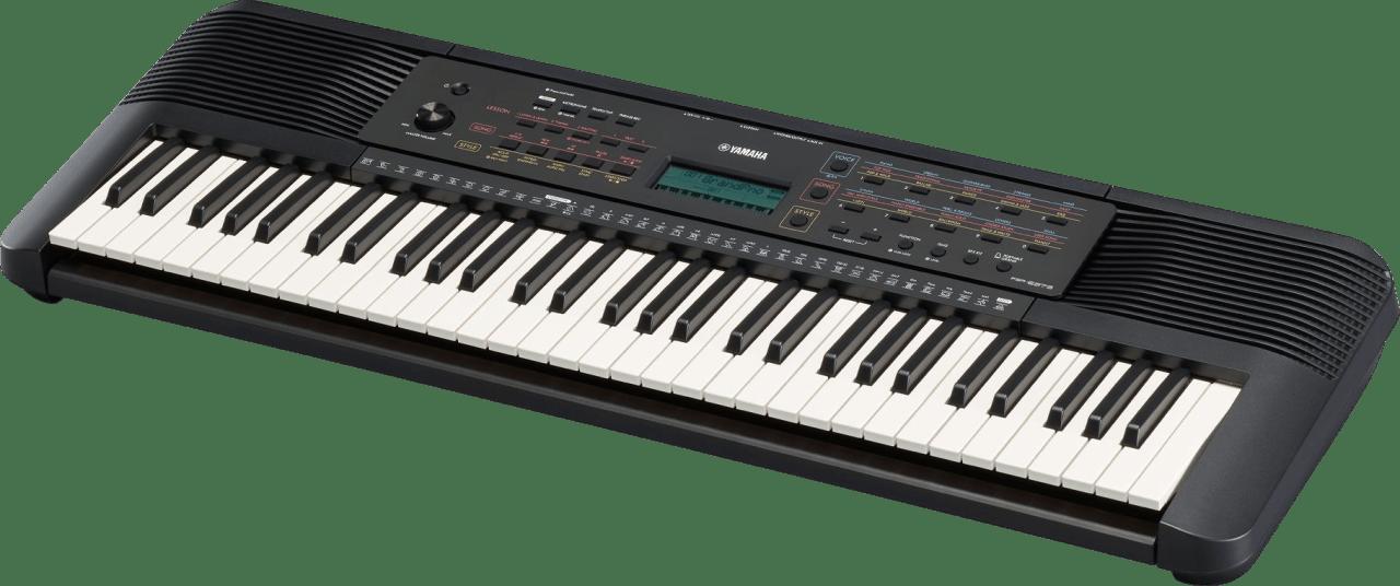 Negro Piano digital portátil Yamaha PSR-E273 de 61 teclas.2