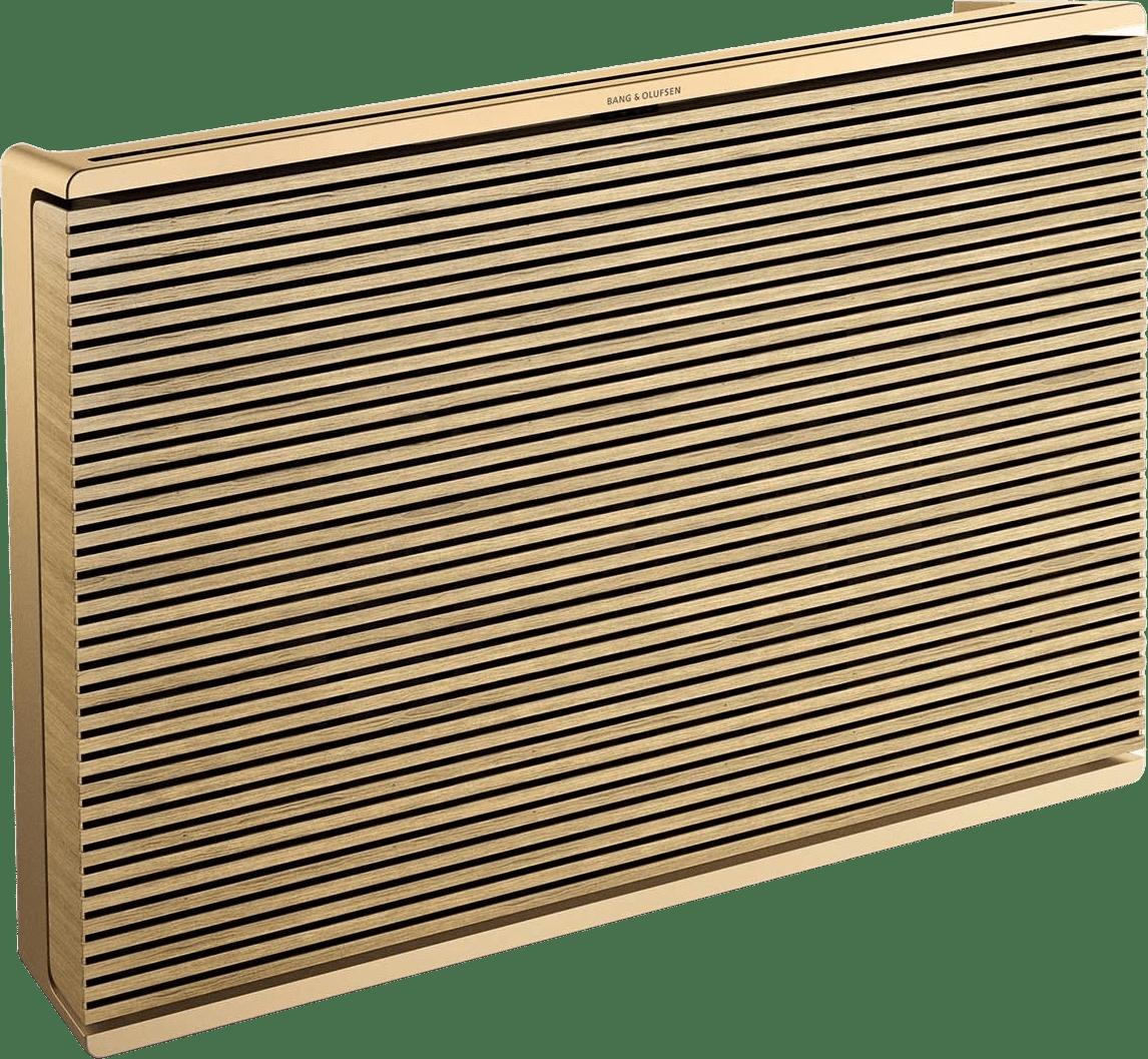 Gold Tone / Light Oak Bang & Olufsen Beosound Level Portable WiFi Speaker.1