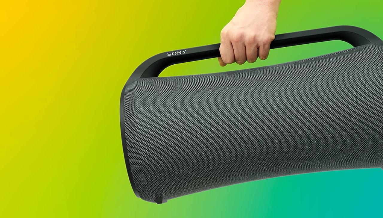 Sony SRS-XG500 Portable Wireless Speaker.4