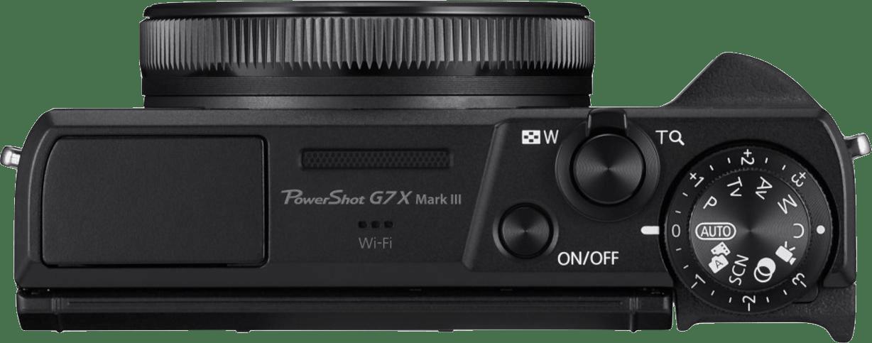 Black Canon PowerShot G7X Mark III Camera.4