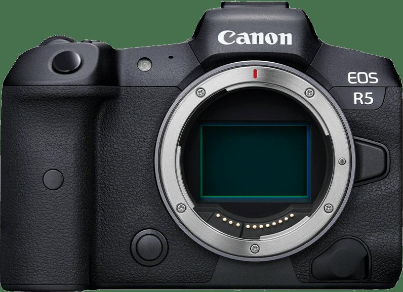 Black Canon EOS R5 (Body) System Camera.1