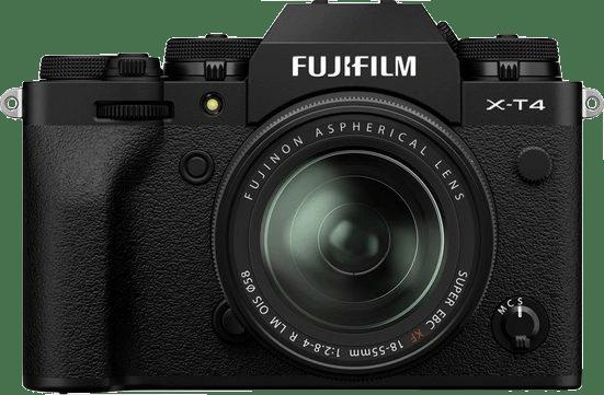 Black Fujifilm X-T4 System Camera + Lens (XF 18-55mm) Kit.3