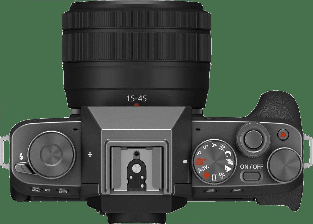 Dark Silver FUJIFILM X-T200 (XC 15-45mm Lens).3