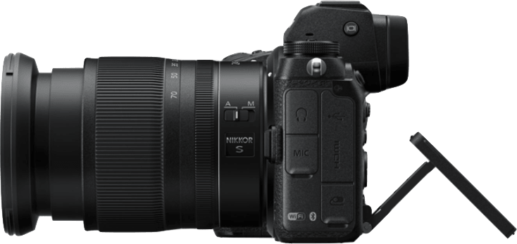 Black Nikon Z7 Camera Kit with 24-70 mm 1:4 Lens and FTZ Adapter.3