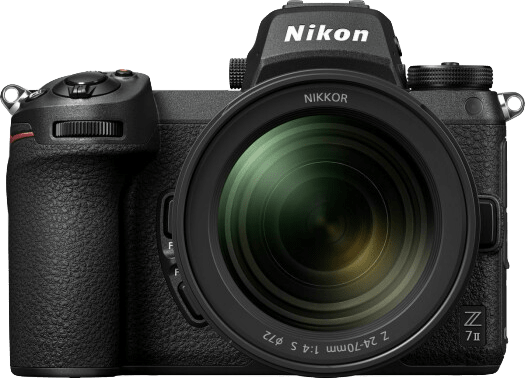 Black Nikon Z7 Camera Kit with 24-70 mm 1:4 Lens and FTZ Adapter.5
