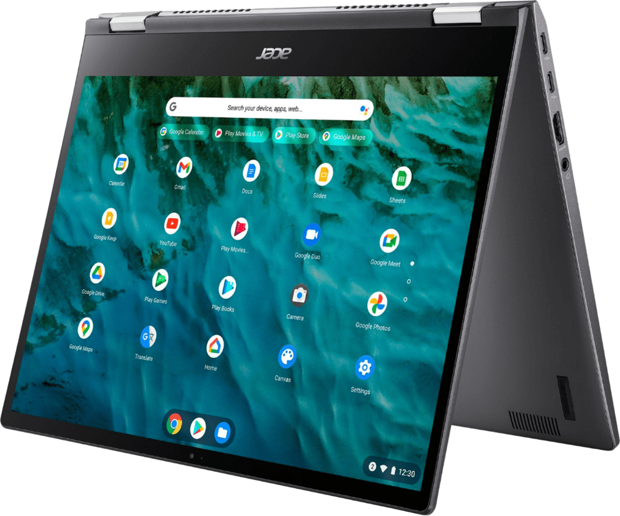 Black Acer Chromebook Spin 713 Laptop - Intel Evo Core i5 – 8GB – 256GB SSD.1