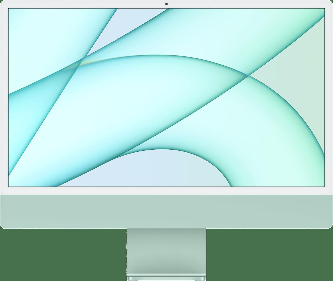"Green Apple 24"" iMac (Mid 2021) All-in-One - Apple M1 - 8GB - 256GB SSD - Apple Integrated 7-core GPU.1"