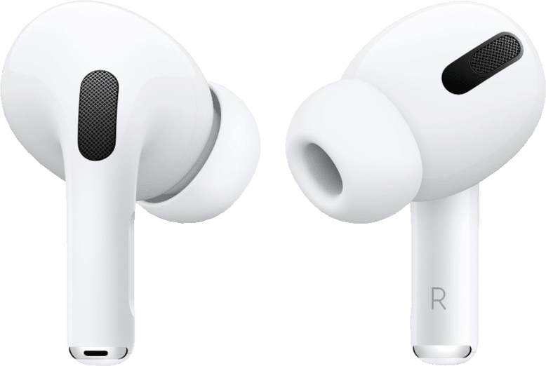 White Apple AirPods Pro with Case Noise-cancelling In-ear Bluetooth Headphones.2