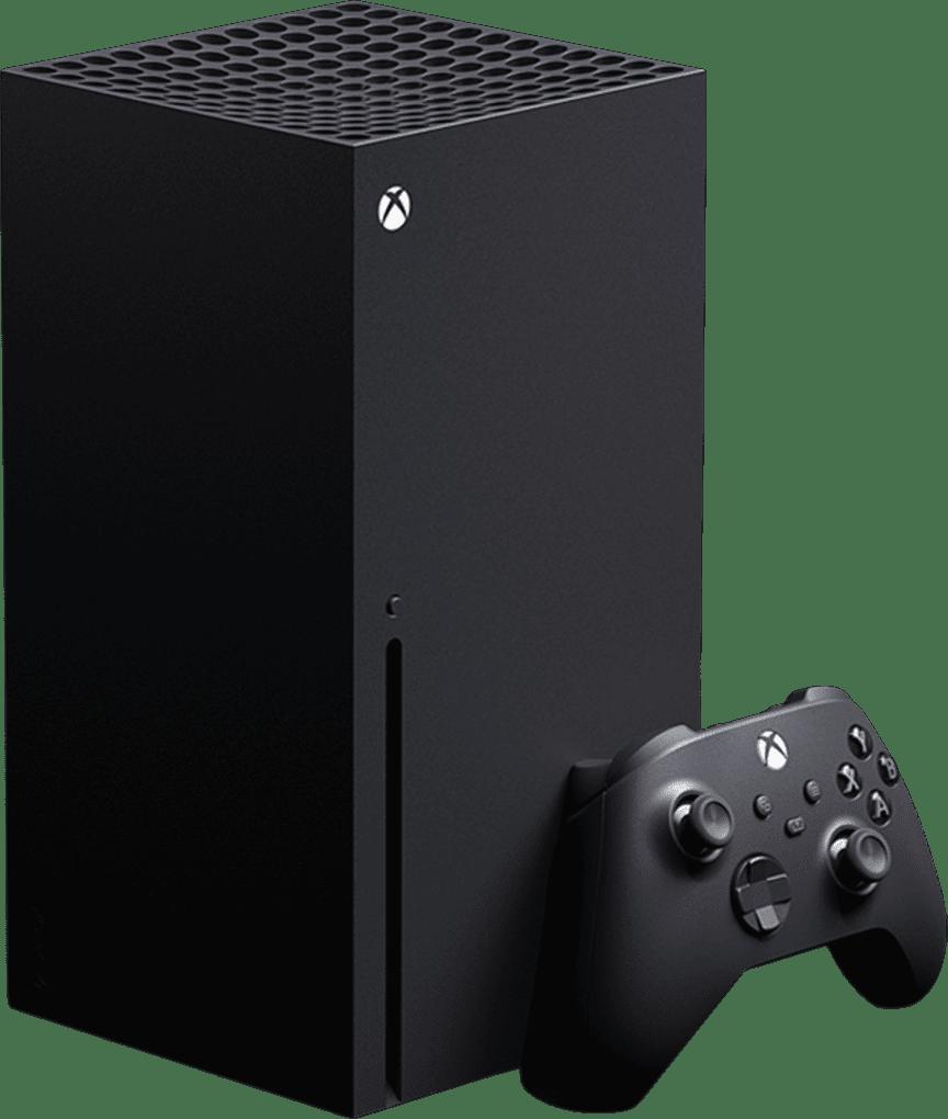 Black Microsoft Xbox Series X.1