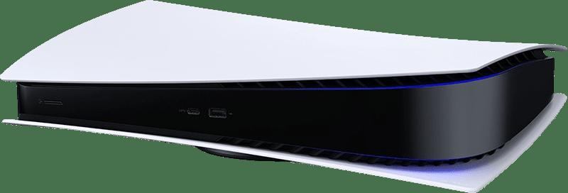 White Sony PlayStation 5 Digital Edition.3