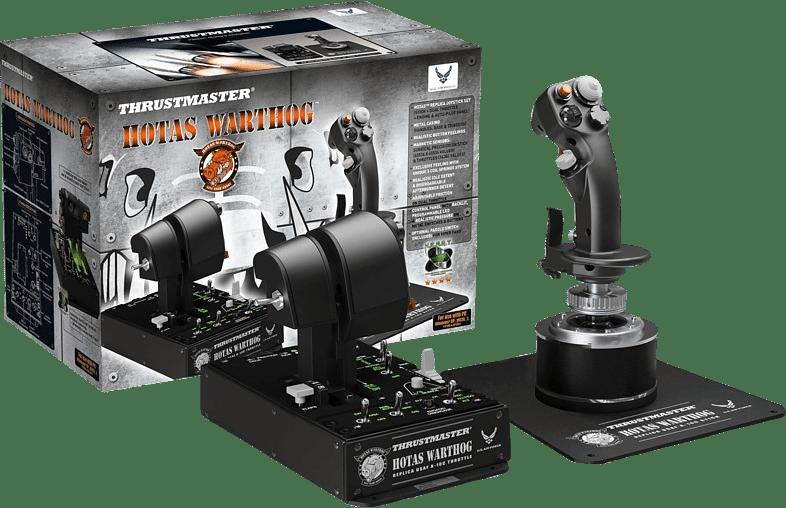 Black Thrustmaster Hotas Warthog.3