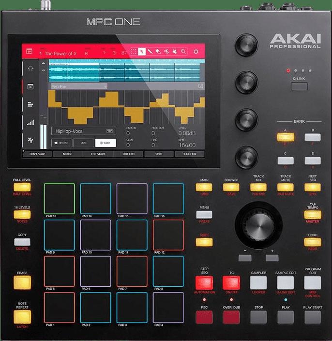 Black Akai MPC One Music Production Center.1