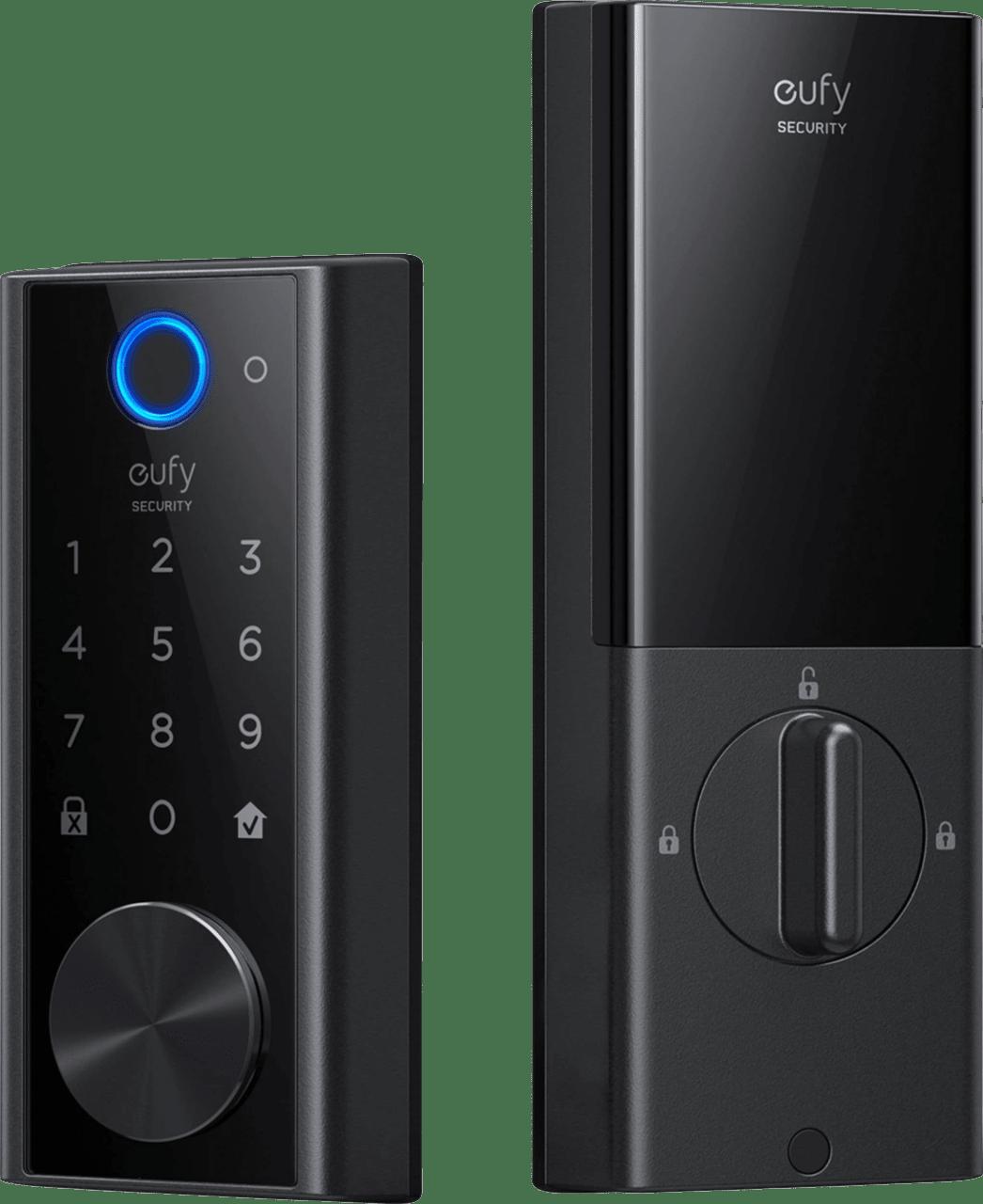 Black eufy Smart Lock Touch & Wi-Fi.1